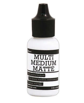 Multi Medium Matte Glue Mini with Precision Tip by Ranger® .5oz