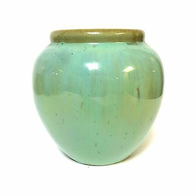 Fulper Pottery Vase With Baby Blue Glaze decoration