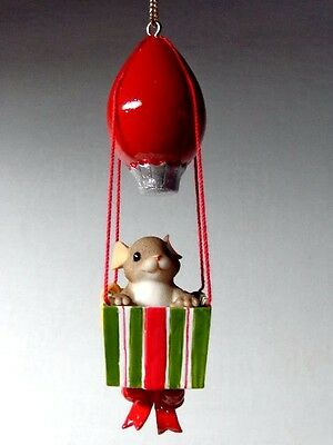 """Fitz & Floyd Charming Tails """"A Bright Outlook""""  Christmas Ornament - Item 86/141"""