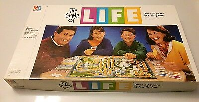 Vintage Game Of Life Board Game By Milton Bradley *100% Complete*