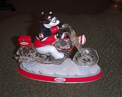 The Coca-Cola Cruisers Collection.......(6) Coke Bears on Motorcycles!!!!