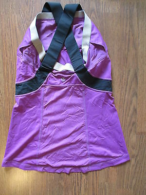 Women's Lululemon Yoga Top Athletic Shirt Pink Size 6 8 ?