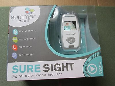 Summer Infant Sure Sight Digital Color Video Monitor BRAND NEW OPEN BOXED