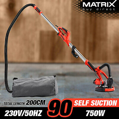 New Matrix 750W Drywall Sander with Automatic Vacuum System Plaster Gyprock