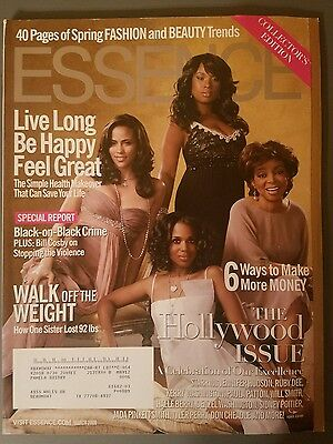 """Essence Magazine March 2008 """"The Hollywood Issue"""" A COLLECTOR'S EDITION"""