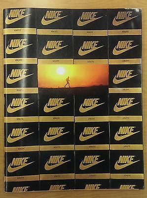 VTG 1980's NIKE hgi tops 1985 SPRING Footwear Dealer Catalog