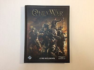 Only War - Core Rulebook - Hardcover - Out of production Warhammer 40k RPG