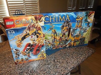 Chima 70144 Lego 70010 Complete Box Manual All The Pieces