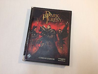 Dark Hersey - Core Rulebook - Hardcover - Out of production Warhammer 40k RPG