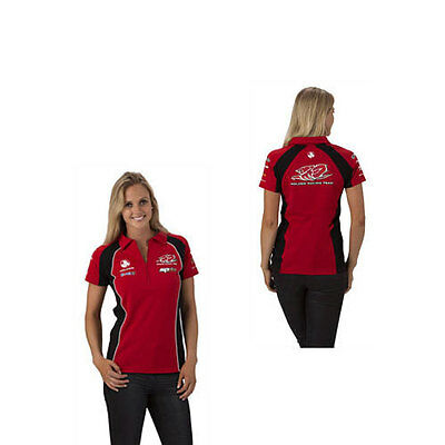 Holden Racing Team Hrt Ladies Team Polo Top  Red V8Supercars Sizes  8 10 16 18