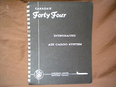 Canadair Forty Four Integrated Air Cargo System