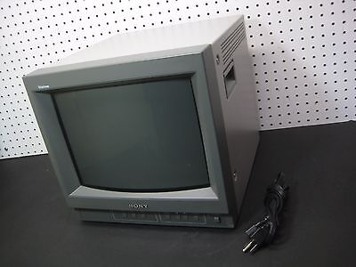 SONY Trinitron Color Video Monitor PVM-14N6U 4:3 & 16:9 CRT #0427