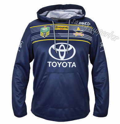 North Queensland Cowboys 2017 NRL Jersey Hoodie Adults and Kids Sizes BNWT Hoody
