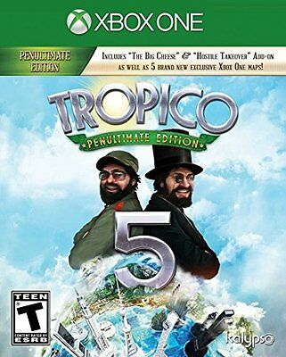 Tropico 5 Penultimate Edition -- Microsoft Xbox One -- BRAND NEW & SEALED
