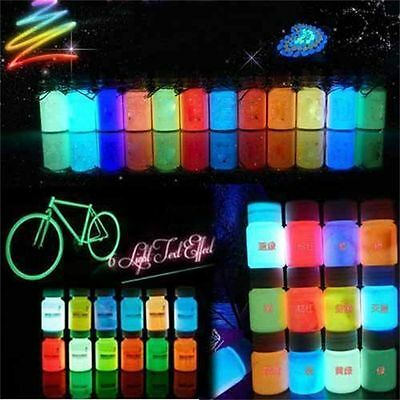 20g Party Bright Acrylic Glow In The Dark Pigment Luminous Paint