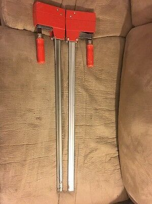 Pair Of (2) Bessey Woodworking Clamp 31""