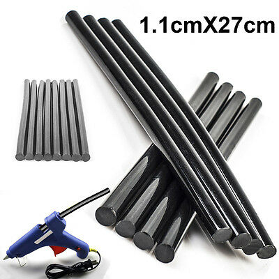 5pcs Black Hot Melt PDR Glue Sticks Car Body Paintless Dent Repair Puller Tool