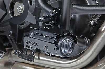 BMW F800GS Hella fog lights kit with crash bar brackets