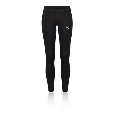 Puma Essentials Mens Black Running Gym Sports Long Tights Bottoms Pants