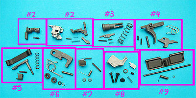 G&P WA Reinforced Assemble Parts (Frame Set) For WA M4 Series Airsoft GBB