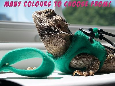 Bearded Dragon Leash Harness Lead Reptile Accessories Rat Harness Leopard Gecko