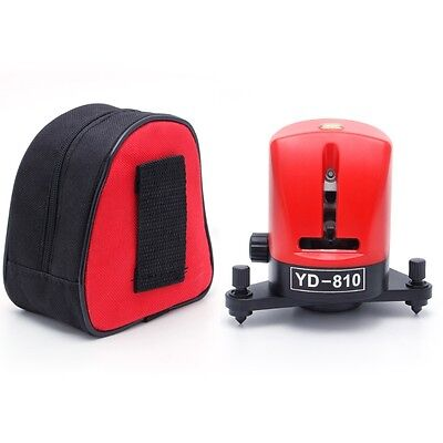 360 Degree YD-810Self-leveling Cross Red Laser Level 2 Line 1 Point Horizontal