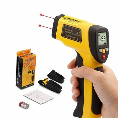 Handheld Non-Contact IR Laser Infrared Digital Temperature Gun Thermometer UK