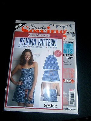 Simply Sewing Magazine Issue 7 With Free Gift (new)
