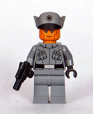 LEGO Star Wars 75101 - First Order Officer Minifigure with Blaster Pistol (NEW)