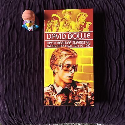 David Bowie Like A Regular Superstar 1976-1987 Box Set