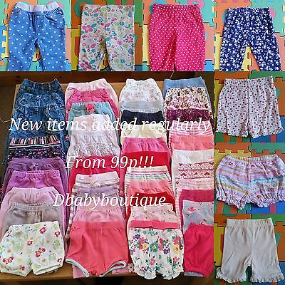 Multi listing baby girl clothes bundle 0-3 months-LEGGINGS-BOTTOMS-TROUSERS