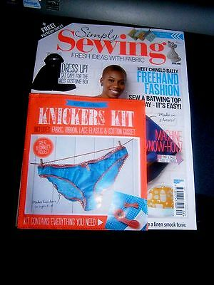 Simply Sewing Magazine Issue 9 With Free Gift (new)