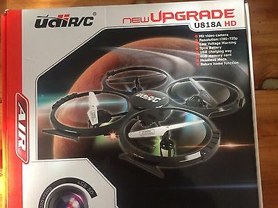 AIR New Upgraded UdiR/C U818A HD Gyro RC Quadcopter