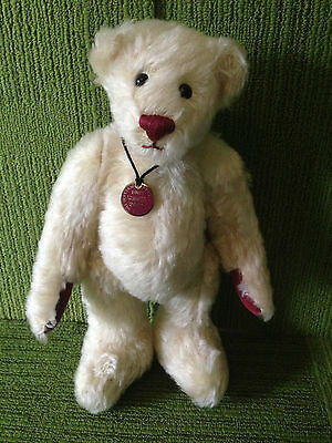 "Dean's Centenary 2003 Ltd Edn 12"" Mohair Bear - Apple Blossom 15/1500 Nwt Coa"