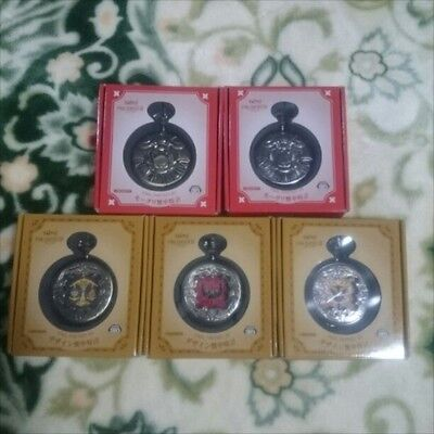 Design Pocket Watch Moogle Triple Alliance FF Final Fantasy XIV 5 Set Taito NEW