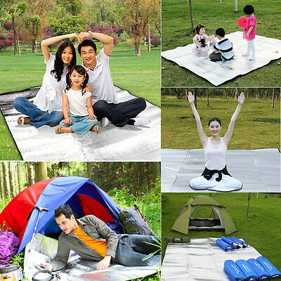 AU 2M Extra Large Waterproof Picnic Blanket Rug Mat Outdoor Camping Beach Travel