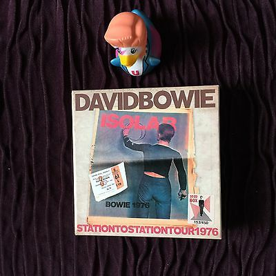 David Bowie Isolar 1 Station To Station Tour 1976 Box Set