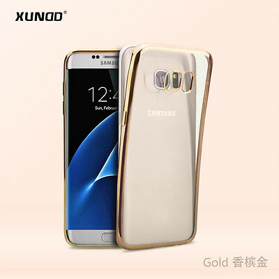 5 Pcs of Xundd Jazz TPU Back case for Galaxy S7 in retail packaging