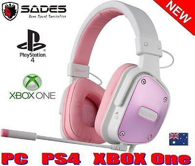 Wireless headphones gaming playstation - pink gaming headphones with microphone