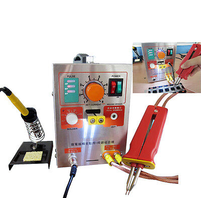 Canada 2 in 1 Pulse Spot Welder 709A Battery Welding Soldering Machine 1.9kw 60A