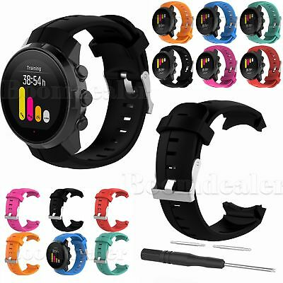 Replacement Silicone Wrist Band Strap & Tool for SUUNTO SPARTAN Sport GPS Watch