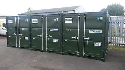 8Ft X 7Ft New Build Steel Storage Shipping Containers - Nationwide **£1350+Vat**