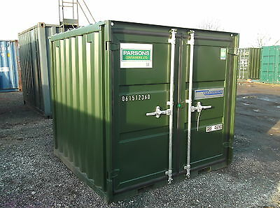 6Ft X 6Ft New Build Steel Storage Shipping Containers - Nationwide **£1050+Vat**