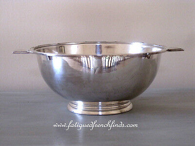 Sud Atlantique French Line SS l'Atlantique Christofle Silver Plate Tureen Rare