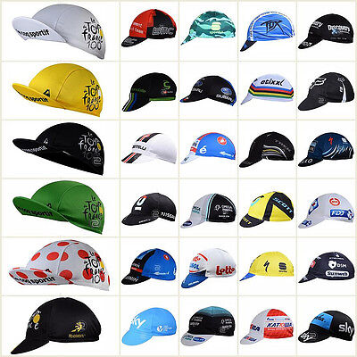2017 Unisex Bike Cycling Cap SportHat Bicycle Visor Hat Riding Road Headbands