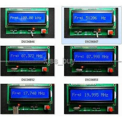 crystal oscillator tester meter low/high frequency 3M-20M 30KHZ-2M ADC 49S