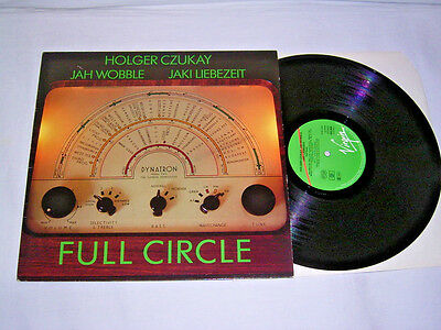 LP - Holger Czukay (Can) Full Circle - 1982 Krautrock # cleaned