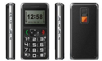 Mobile phone with GPS tracker with radio Torch Light and SOS, model 788