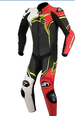 One Piece Motorbike Leather Racing Suit High Quality Leather