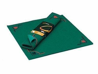 Cayro Playing Mat (Card Poker Cloth, Table Games Cover) 50x50cm Childrens NEW